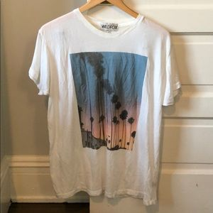 WILDFOX printed T-shirt size Small
